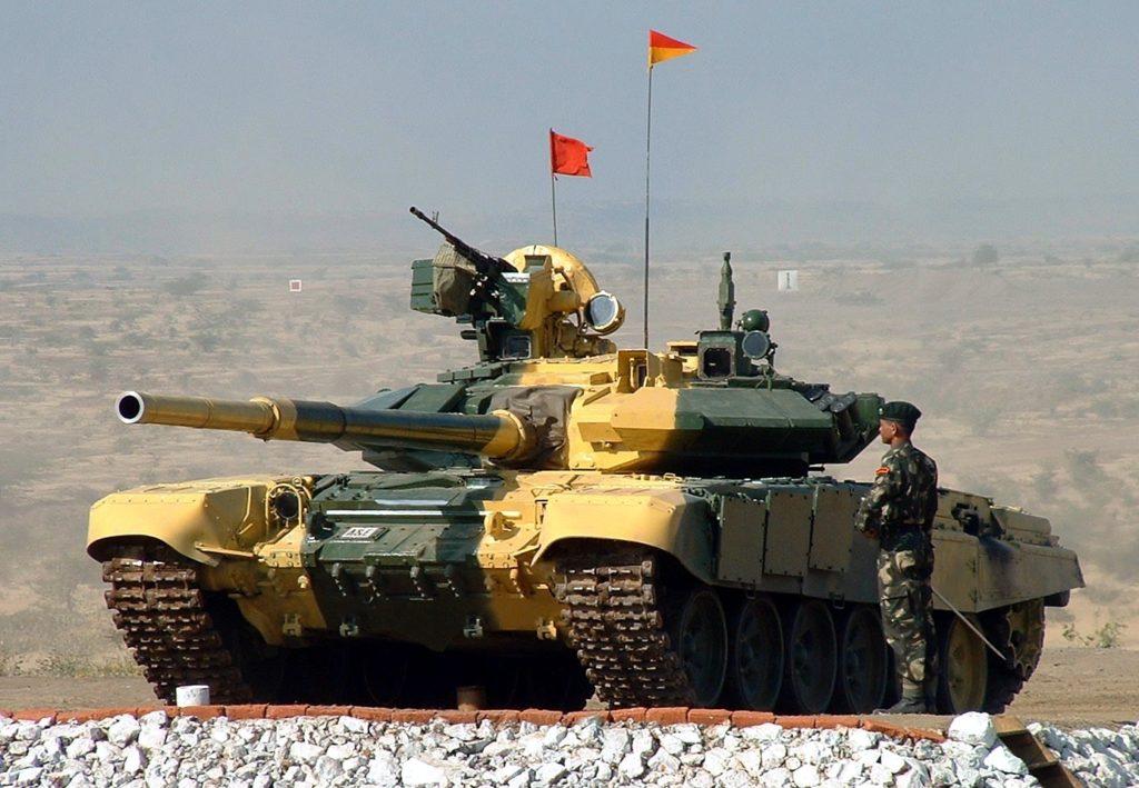 T-90 in Ladakh